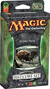 Magic the Gathering: MTG: 2012 Core Set M12 Intro Pack: ENTANGLING WEBS Theme Deck