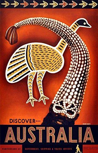 australia-wonderful-a4-glossy-art-print-taken-from-a-rare-vintage-travel-poster