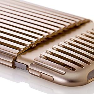 SQUAIR iPhone 6 専用 ジュラルミンケース The Slit 日本製 超々ジュラルミン A7075 を使った 金属製ケース アイフォン6 | シルバー | SQSLT600-SLV