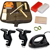 Dual Deluxe Snowboard Ski Everything Kit Vise Iron Tools Wax +More by RaceWax