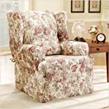 Chloe Wing Chair Slipcover - Multicolor