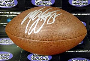 Marvin Harrison Autographed Hand Signed Football (Indianapolis Colts) by Hall of Fame Memorabilia