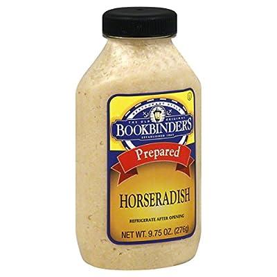 Bookbinder's Horseradish, 9.75 oz by BOOKBINDERS