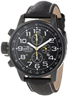 "Invicta Men's 3332 ""Force"" Collection Stainless Steel and Leather Lefty Watch by Invicta"
