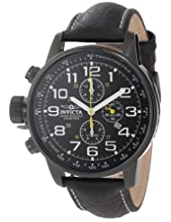 Invicta 3332 Collection Stainless Leather