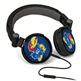 NCAA Kansas Jayhawks DJ Style Headphones at Amazon.com