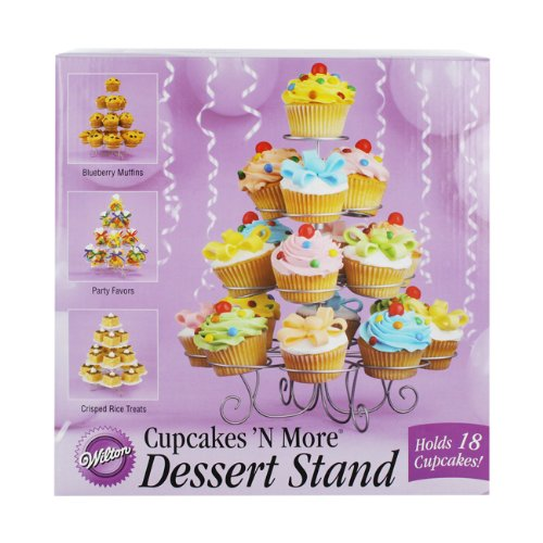 Wilton 18 Cup Cupcakes and More Dessert Stand