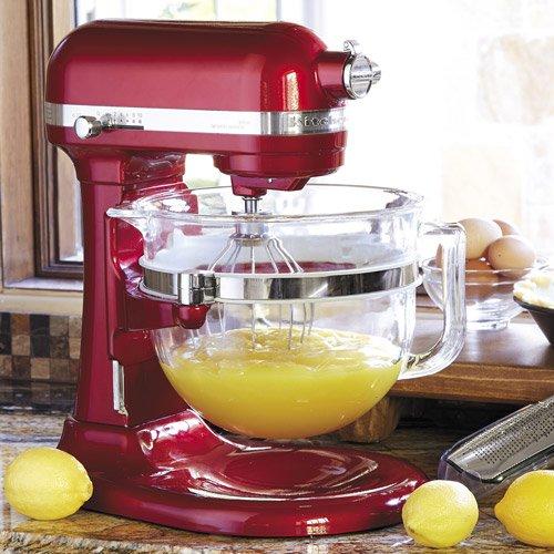 Kitchenaid Professional 6500 Stand Mixer, Ksm6521 - Candy Apple Red - Kitchenaid Professional