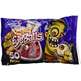 Scary Eyeballs Tuttifrutti Bubble Gum Candy,150g Bag (50 Pieces)