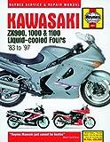 Haynes Manual for Kawasaki ZX900, 1000 and 1100 Liquid-cooled Fours (83 - 97) Including a Free AA Microfibre Magic Mitt