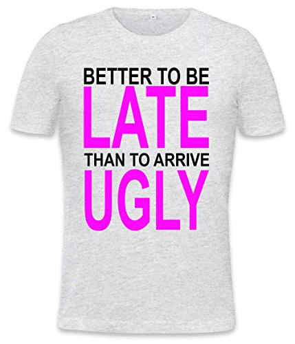 better-to-be-late-slogan-mens-t-shirt-xx-large