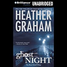 Ghost Night: Bone Island Trilogy , Book 2 (       UNABRIDGED) by Heather Graham Narrated by Angela Dawe