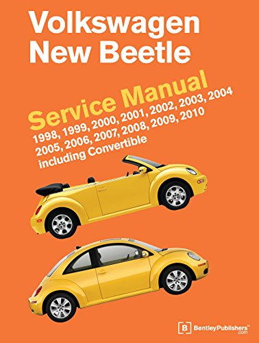 Volkswagen New Beetle Service Manual: 1998, 1999, 2000, 2001, 2002, 2003, 2004, 2005, 2006, 2007, 2008, 2009, 2010: Including Convertible (2006 Vw New Beetle Owners Manual compare prices)