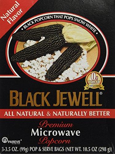 Black Jewell Premium Microwave Popcorn, Natural, Boxes, 10.5 oz (Black Jewell Microwave Popcorn compare prices)