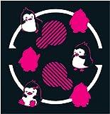 輪るピングドラム ペンギンTシャツ ディープネイビー サイズ:M