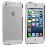 Zeimax® Clear Plain TPU Rubber Skin Case Cover for Apple iPhone 5 5S
