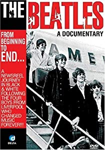 the beatles from beginning to end music biography documentary dvd beatles dvd. Black Bedroom Furniture Sets. Home Design Ideas