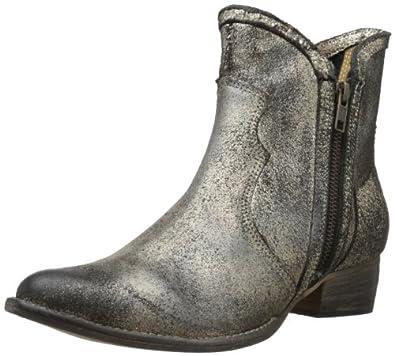 Diba Women's Full Steam Ankle Boot,Gold,6.5 M US