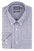 Pure Cotton Easy Iron Long Sleeve Checked Oxford Shirt [T11-7277C-S]