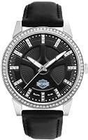 Harley-Davidson Women's Bulova Watch. 76L158
