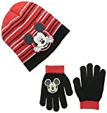 Berkshire Big Boys' Mickey Mouse Beanie and Glove Set