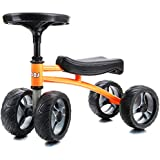Lebas 12 Inch No Pedal Four Wheels Balance Bike, Toys for Boys and Girls