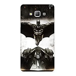 Knight Car Back Case Cover for Galaxy A7