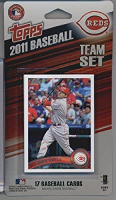 2011 Topps Limited Edition Cincinnati Reds Baseball Card Team Set (17 Cards) - Not Available In Packs!!