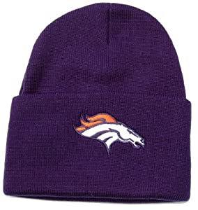 NFL Beanie Denver Broncos- Navy by NFL Team Apparel