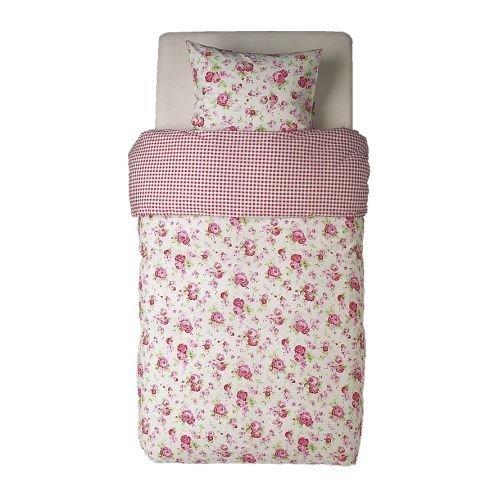 ikea-bettwasche-set-rosali-garnitur-2-teilig-140x200cm-und-80x80cm-mit-rosenmuster-100-baumwolle