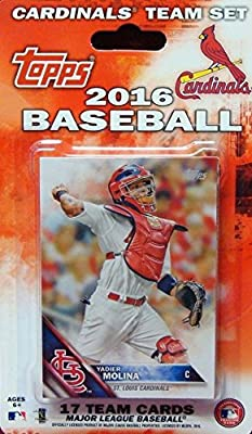 St Louis Cardinals 2016 Topps Factory Sealed Special Edition 17 Card Team Set with Matt Holliday and Yadier Molina Plus