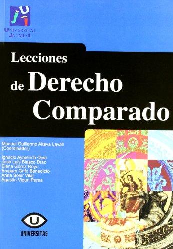 Lecciones de derecho comparado (Universitas)
