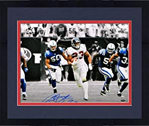 Framed Autographed Arian Foster Houston Texans Photo - 16x20 Witness - JSA Certified... by Sports Memorabilia
