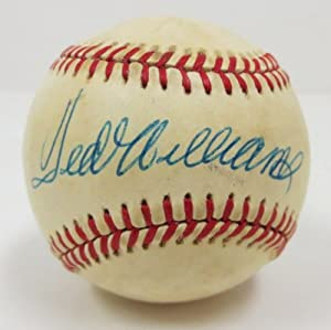 Ted Williams Boston Red Sox Signed American League Baseball PSA/DNA Q99842