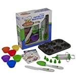 Curious Chef 16-Piece Cupcake and Decorating Kit from Curious Chef