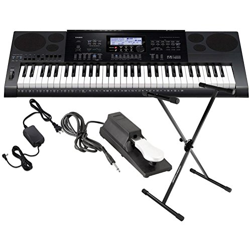 casio-ctk-7200-61-key-portable-keyboard-w-power-supply-sustain-pedal-and-stand
