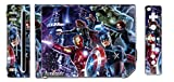 Avengers Captain America Thor Hulk Iron Man Video Game Vinyl Decal Skin Sticker Cover for the Nintendo Wii System Console