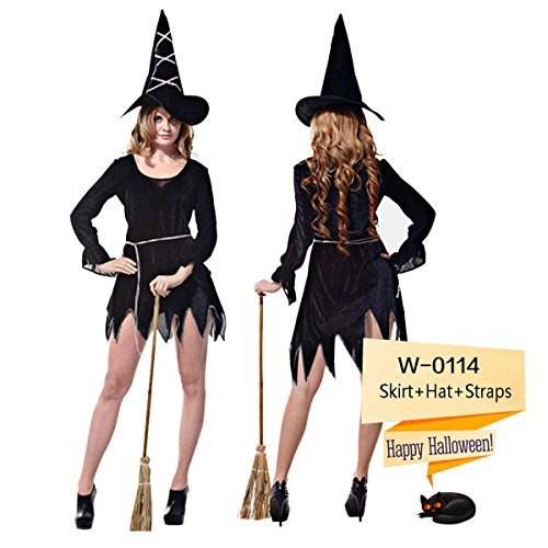 Popular Cosplay Halloween Costume / Adult Witch Costume/Party City Halloween Costumes - Halloween Decoration (Medium Size) (Homemade Halloween Costumes Ideas 2015)
