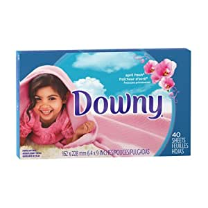 Downy Fabric Softener April Fresh Sheets, 40-count (Pack of 3)