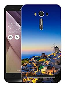 """Humor Gang View From Above Scenery Printed Designer Mobile Back Cover For """"Asus Zenfone 2"""" (3D, Matte Finish, Premium Quality, Protective Snap On Slim Hard Phone Case, Multi Color)"""