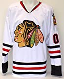 Chevy Chase Unsigned Custom Pro Style White Hockey Jersey XL