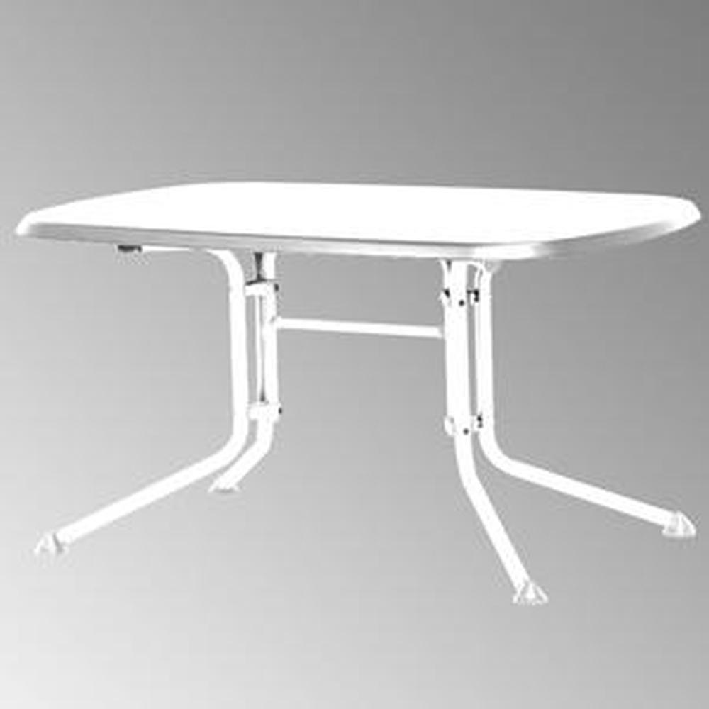Kettler 03117-810 Klapptisch 160 x 95 x 72 cm, weiß / weiß jetzt kaufen