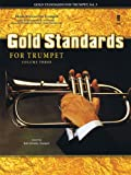 img - for Music Minus One Trumpet: Gold Standards for Trumpet, Vol. 3 book / textbook / text book