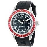 Reloj Invicta 15227 Specialty para hombre, de acero inoxidable, corona roja y pulsera de poliuretano.