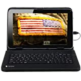 SANOXY? PU Leather Carrying Case For 8 inch Tablet Stand w/ USB Keyboard