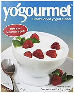 Yogourmet Freeze Dried Yogurt Starter, 1 ounce box (Pack of 3)