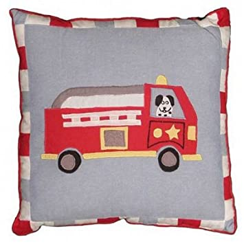 Marvelous Fire Truck Pillow Bedding Set Kids Bedding Childrens Bedding Comforters Bedding