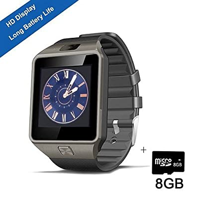 Smart Watch,SHONCO Smartwatch Bluetooth Watch Phone Wristwatch DZ09 Sync to Samsung S6 /S5 /Note 2/3/4,Nexus 6,HTC,Sony,LG,HuaWei and Other Android Smartphones
