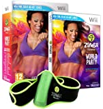 Zumba World Party - Bundle Pack with Belt Accessory (Nintendo Wii)
