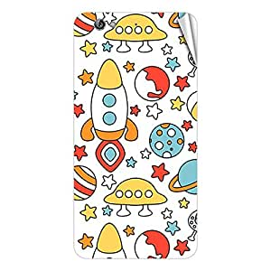 Garmor Designer Mobile Skin Sticker For Gionee GN810 - Mobile Sticker